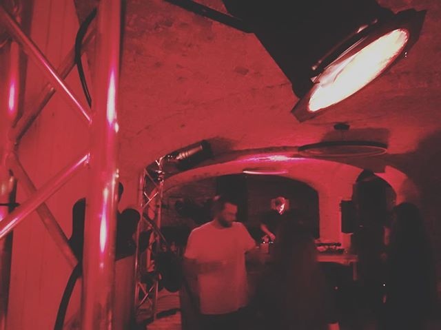 @playlabelrecords is kicking off at the ridiculously underground Tour a Plomb, a totally new venue in the old bullet factory. One of the last venues in the canal area with capacity left. Move your body 👹 . . . #brusselselectronicmusic #thisisthesoundofbrusssels #house #techno #party #underground #factory #rave
