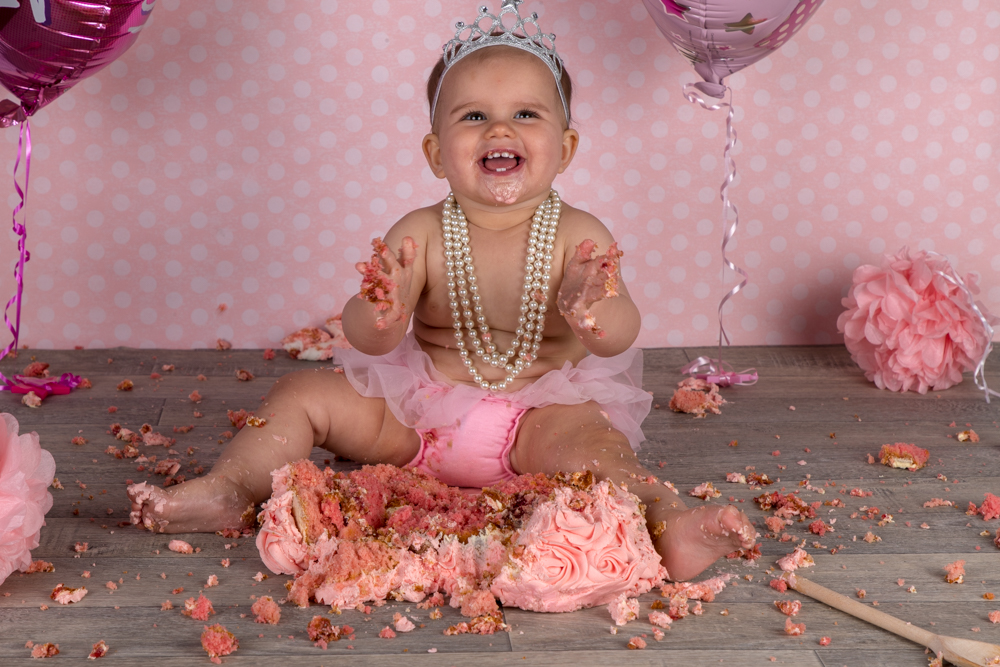 Cake Smash Photography - First Birthday celebrations to remember forever.
