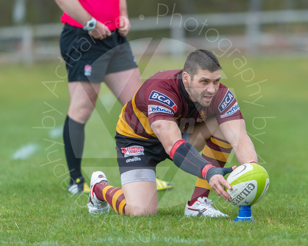 James Pritchard  once again squares up to the posts for additions (Photo: Iain Frankish, Actuance Photography)