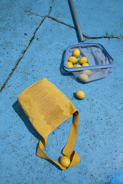 R.verve_yellow Arco Bag
