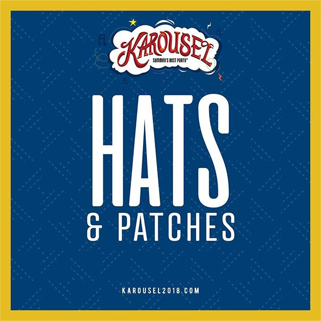 Visit our Hats and Patches station this Friday and custom design your very own Karousel hat!! . . #karousel #karousel2018 #festival #NWI #crownpoint #bestpartyofthesummer #tamethelion #zipline #notyouraverageparty #fourstoryslide #culvers #chickfila #climbingwall #tacotruck #karouselisintown #karouselcomestoCP #stormtroopers #darthvader #comehungry #dogsandhogs #friendsforlife #music #food #crew #karouselsalon #event #summer #worship #fam #cp