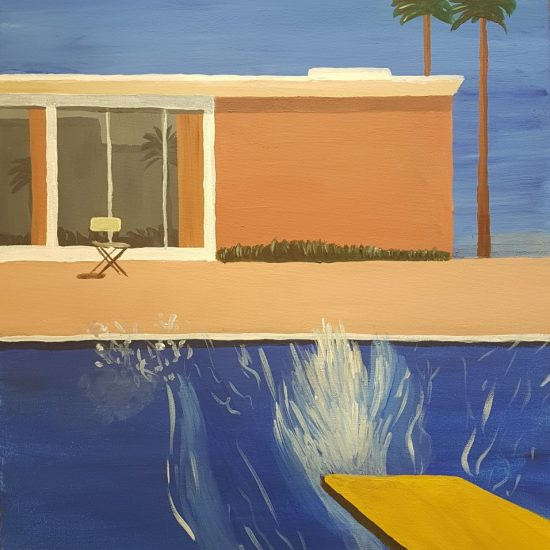 Bigger Splash by Hockney