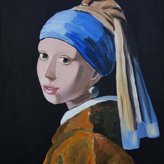 Girl with Pearl Earring by Vermeer
