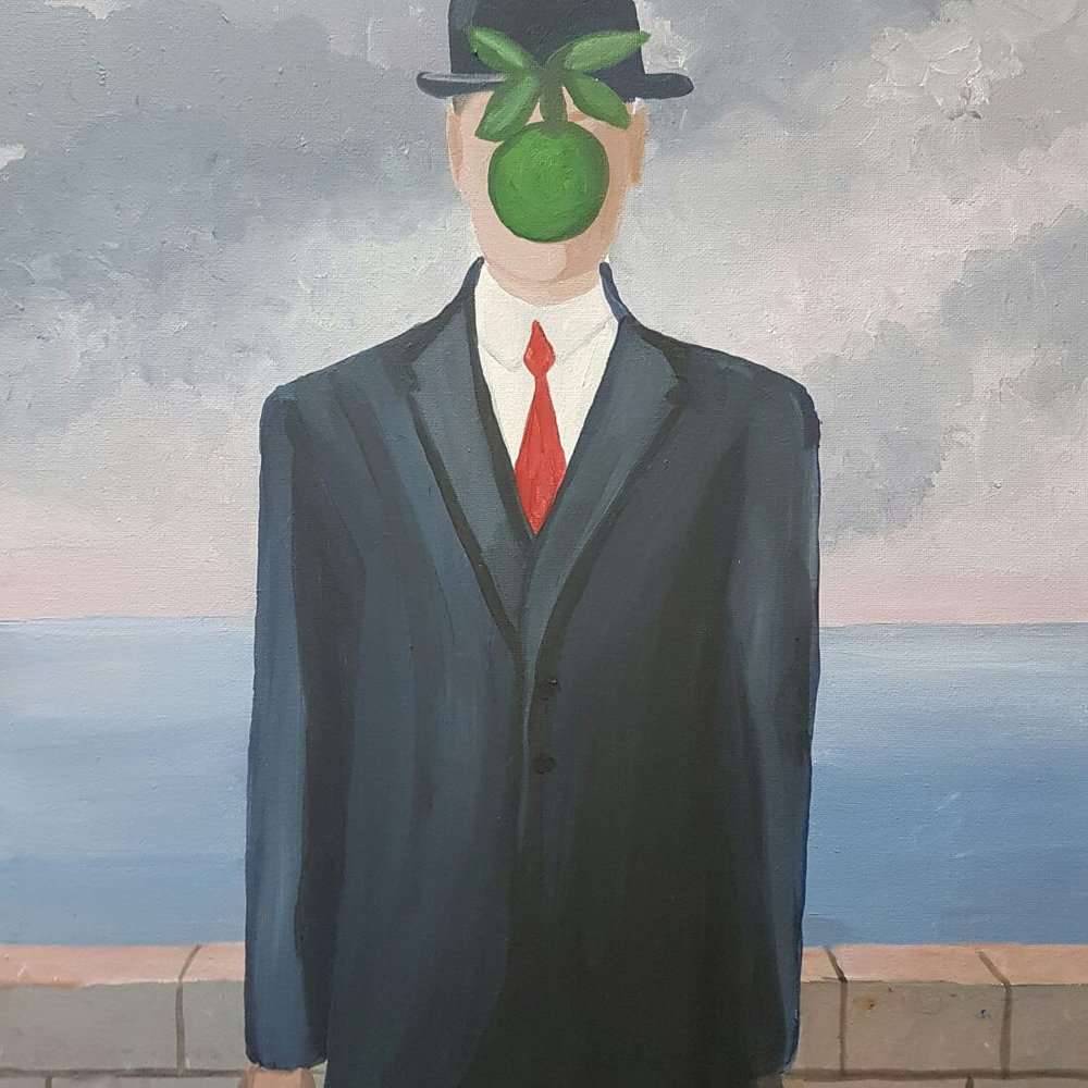 Son of Man by Magritte