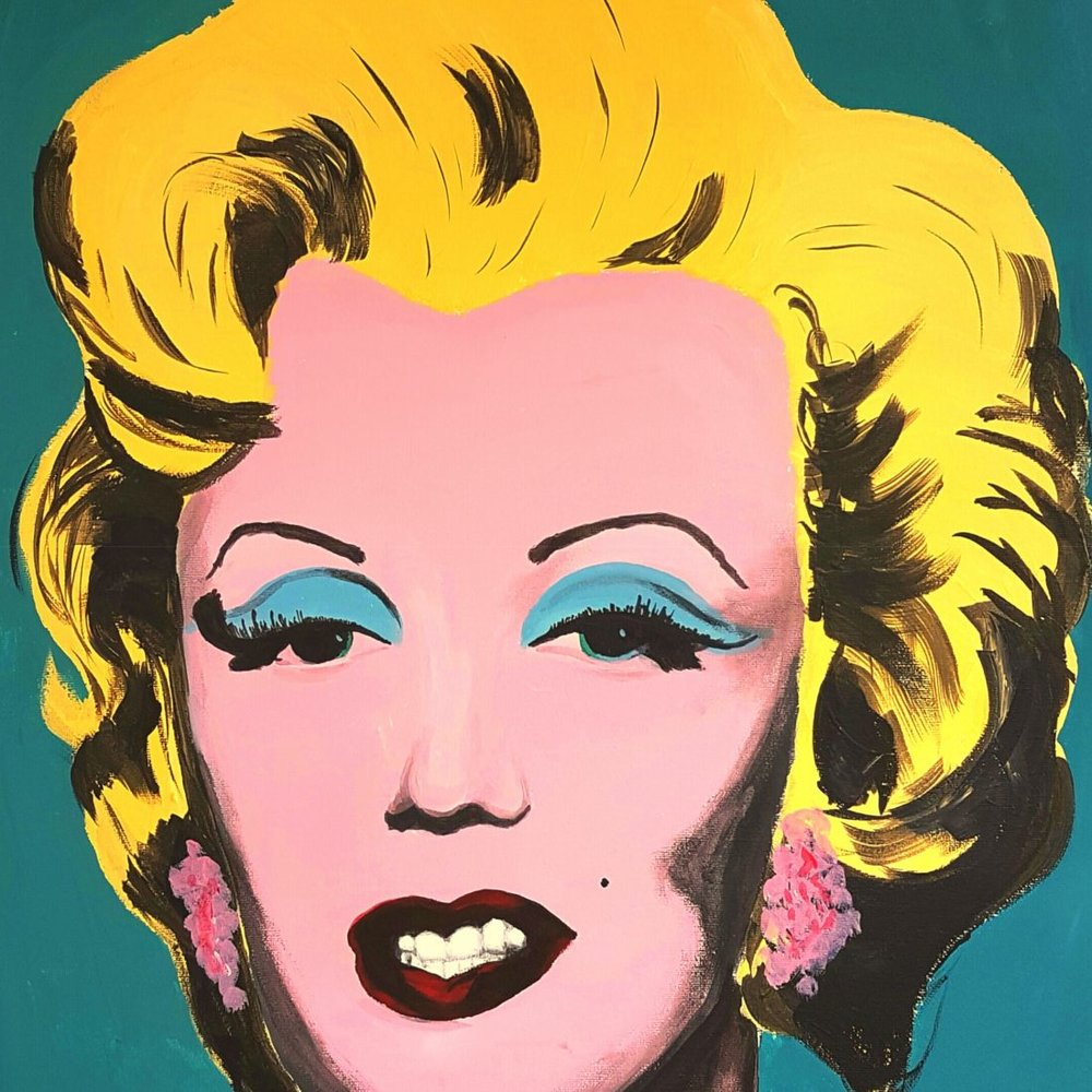 Marilyn Monroe by Warhol