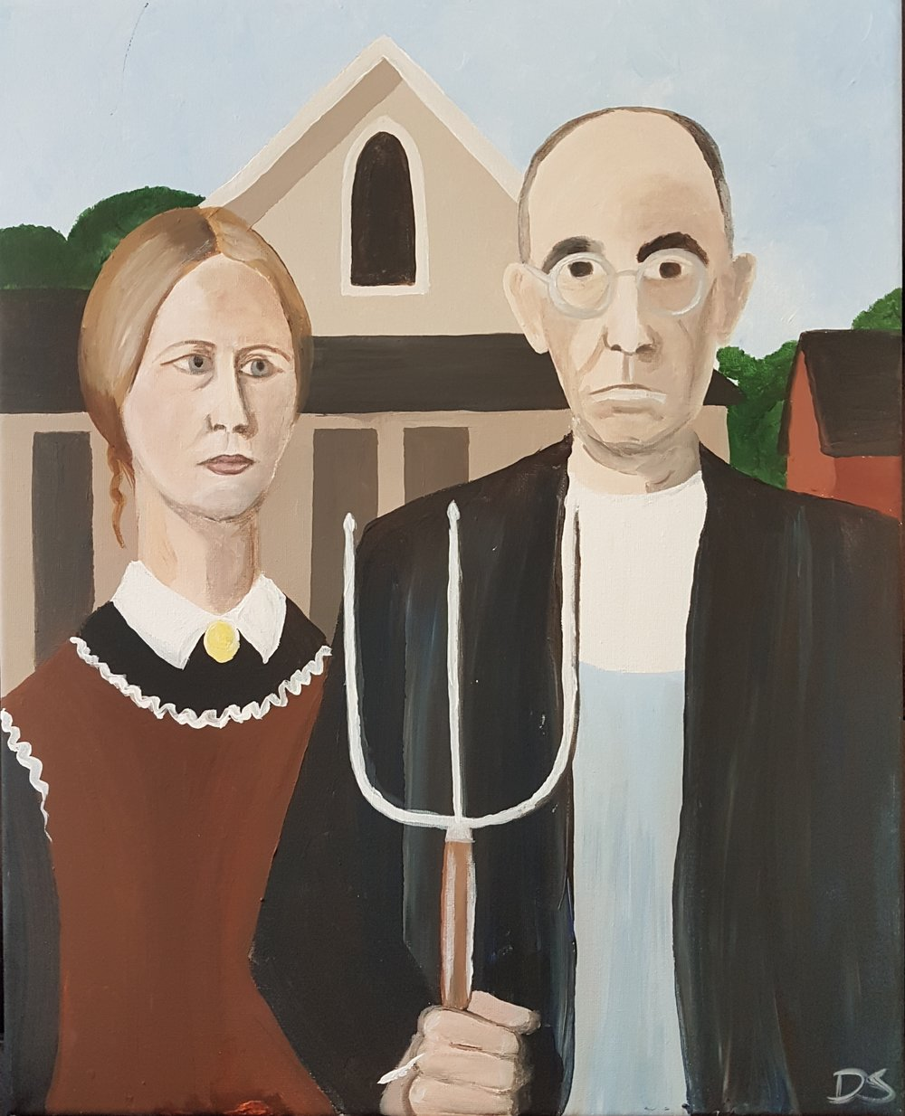 American Gothic by Wood