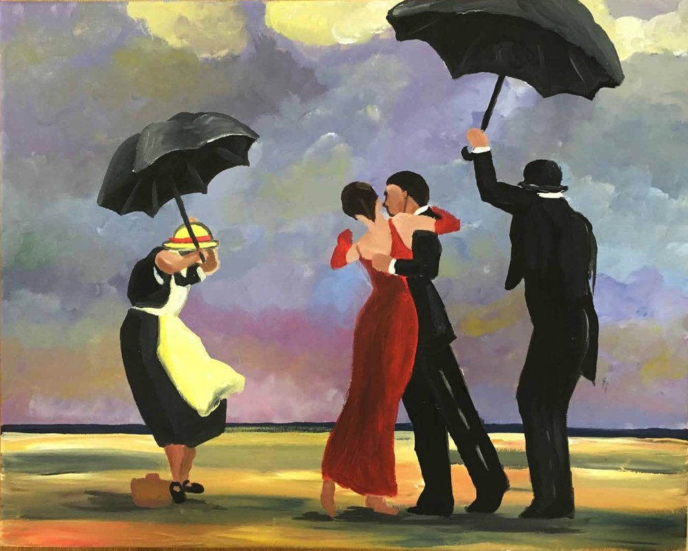 Singing Butler by Vettriano