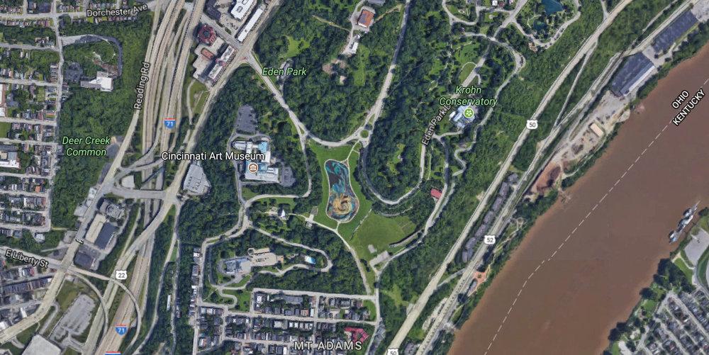 Eden Park's central location