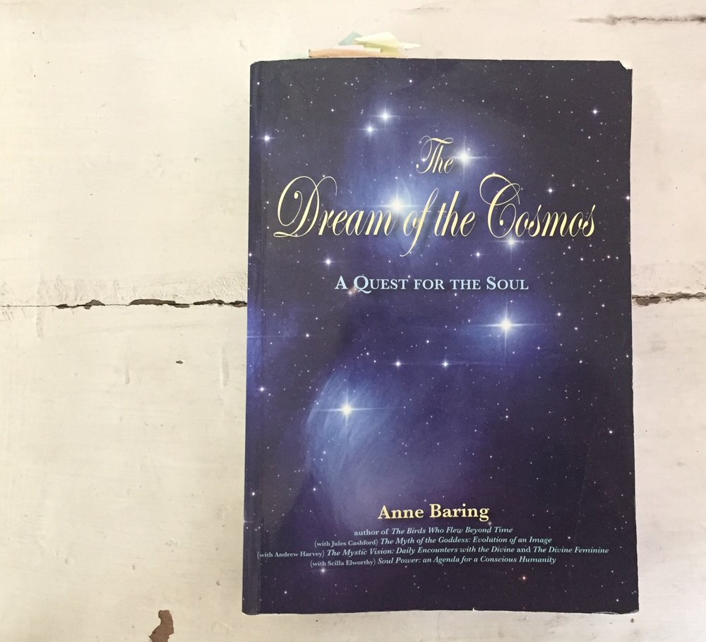the dream of the cosmosby anne baring - Every century, a few important authors and scholar dare to venture into the realm of creating 'Great Books'. Great Books are books that bring together a deep soulful and scientific understanding of human evolution, and announce with the in-depth research and understanding the dawn of a new era. Anne Baring has done such work. This book is the most comprehensive and multi-layered works on the consciousness of humanity in the light of the return of Feminine consciousness and the Soul. It will not be a book you will read over the weekend - rather, it will be a work of craftsmanship with scholarly substance to treasure and to study over time.