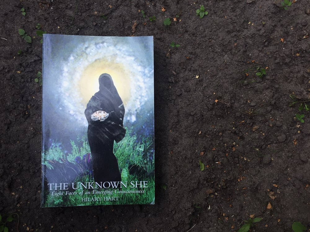 The unknown she, by hilary hart - This is a poetic yet deeply personal homage to the mystery of the emerging feminine consciousness. Hilary takes us both through her own quest as well as the collective search for the deep feminine that lies in the heart of many men and women of our time. She has interviewed 8 different 'faces' (7 women and 1 man) that embody a certain aspect of the 'dark and mysterious feminine'. This book reads like a fragrant poem and belongs to those that are seeking the Feminine with an open heart; with an unknowing rather than a knowing. With a curiosity and openness rather than a pre-determined idea of what and who the Feminine is.'In the silence of the night comes the Unknown She,whispering sweetly; come dance with me..'- Maata Lynn Barron