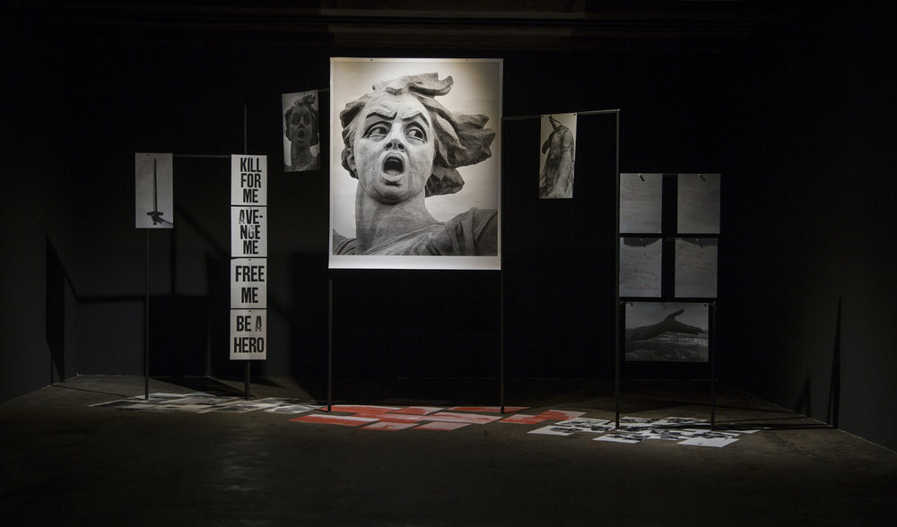 Olga Ghanza's exhibition at the Corridor Art Project space in Amsterdam