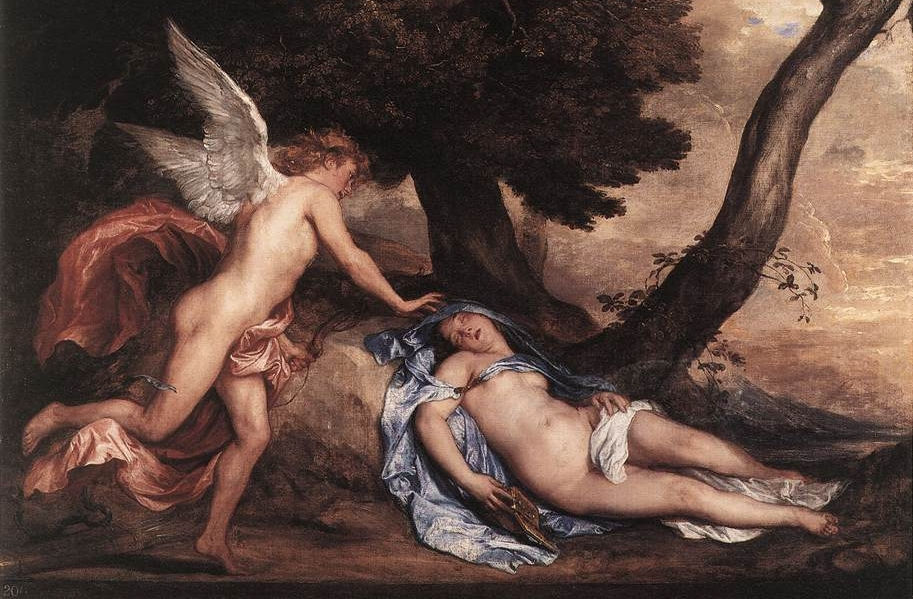 Eros & Psyche - a Greek tale of love and longing