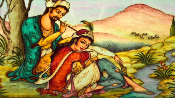 Layla & Majnoon - a Middle-Eastern Sufi tale of love and longing