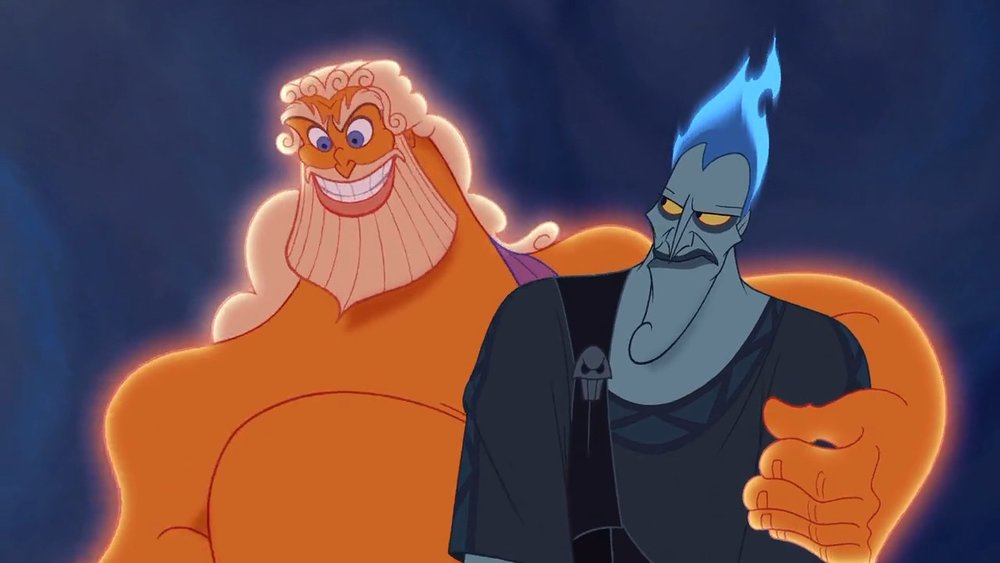 Zeus & Hades according to Disney