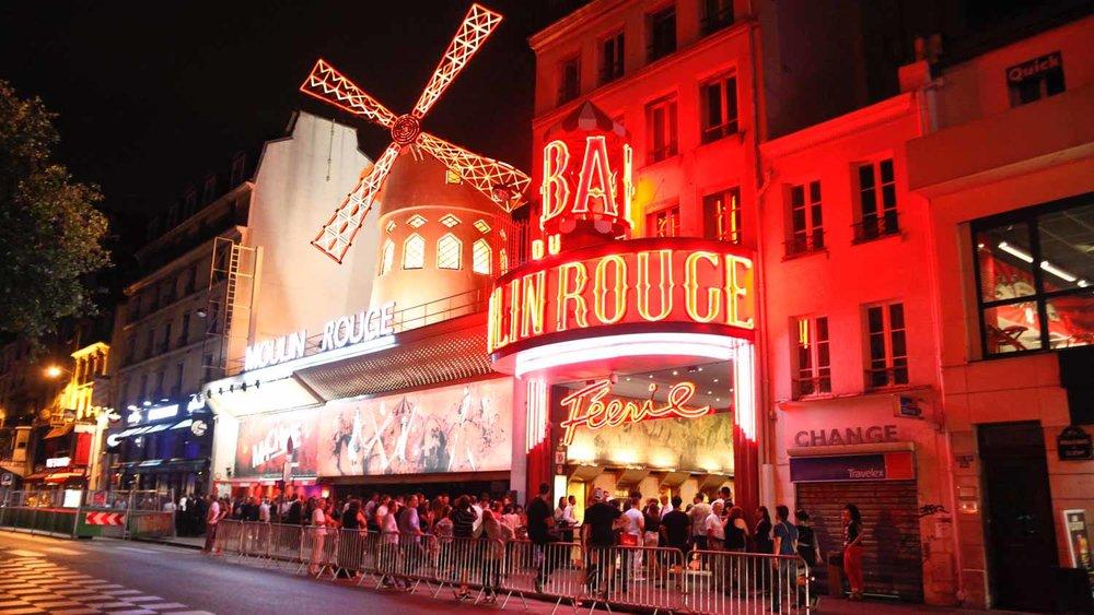 Le Moulin Rouge - Le Moulin Rouge est un cabaret reconnu comme le lieu de la naissance spirituel du célèbre
