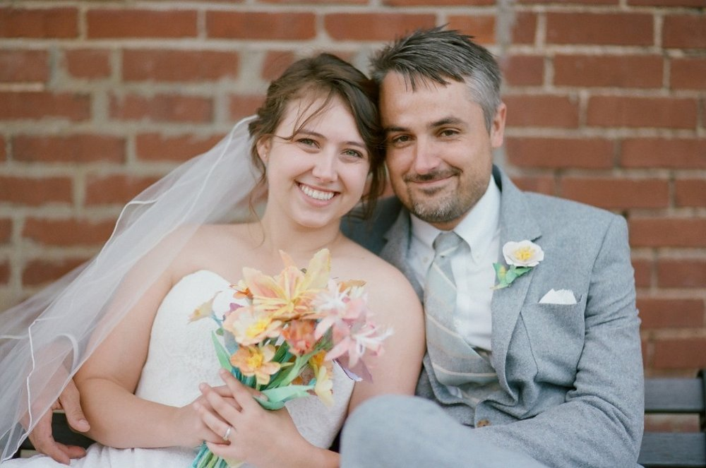 (It was us. We're our workforce. We got married.)