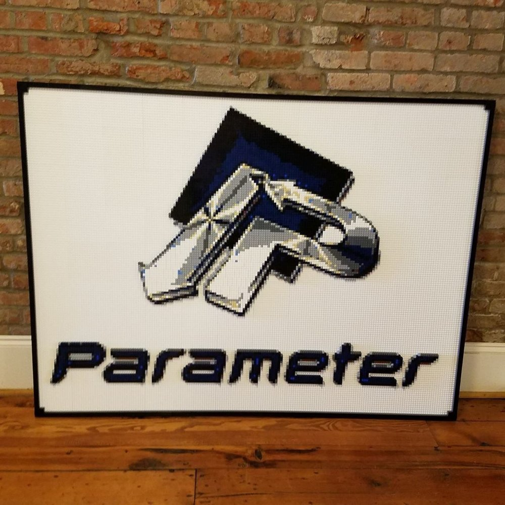 Looking for a creative way to display your company's logo? Look no further than a C3Brix Display! Whether you're looking for a wall mosaic or a 3-D display, we can make it happen.  -