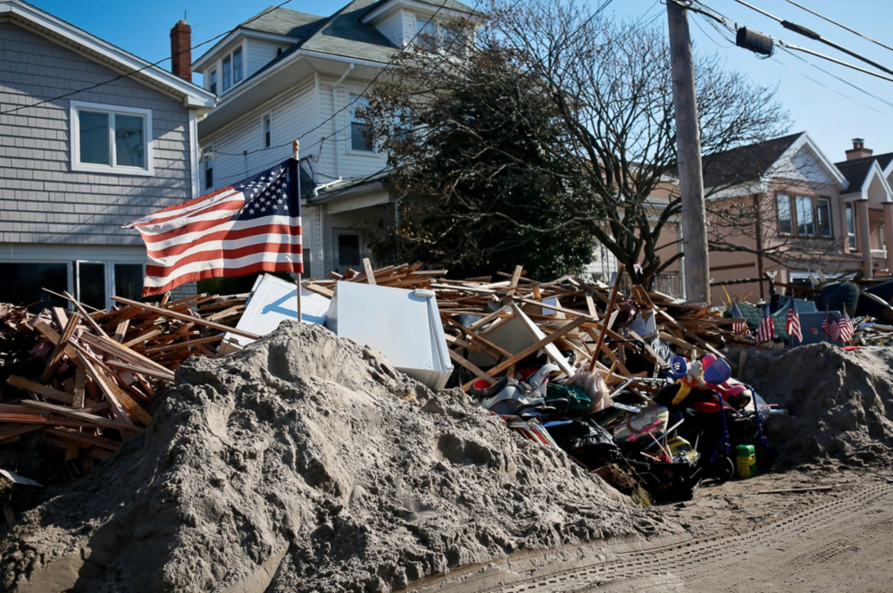 The Rockaways after Hurricane Sandy. (copyright Babita Patel)