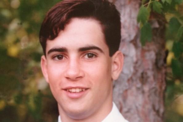 Eric Ayala's senior photo (1994).