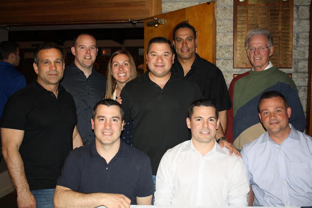 The Eric Ayala Memorial Foundation Board of Directors at the annual memorial dinner (2014).