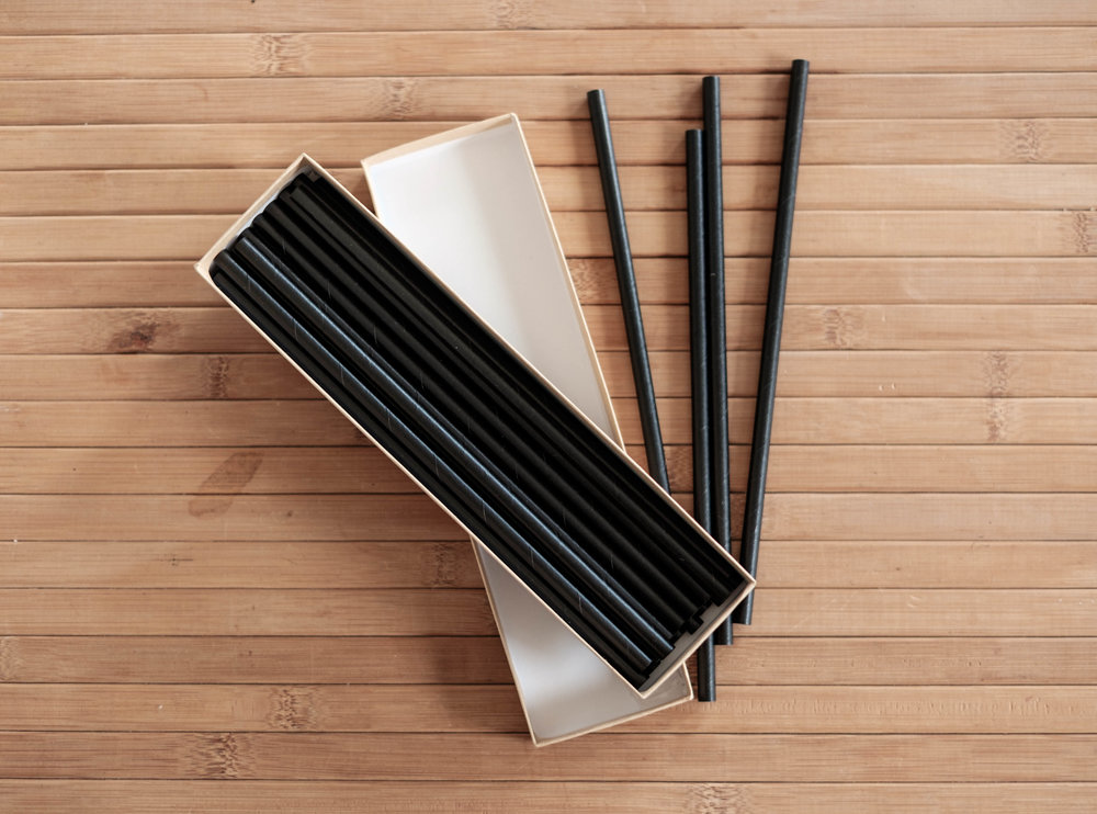 Packaged Loose Black - All of our SeaStraws business partnerships include the monthly amount of straws and shipping. There's no commitment and you can change your subscription at any time.
