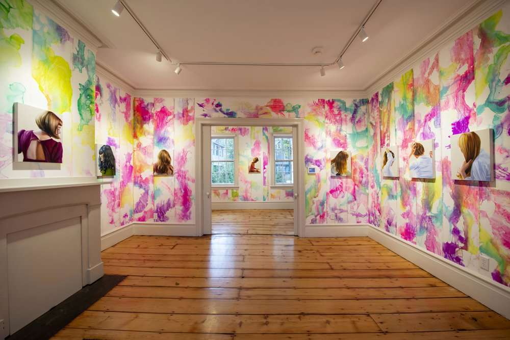 Angela Fraleigh, Hopper House Museum Installation View