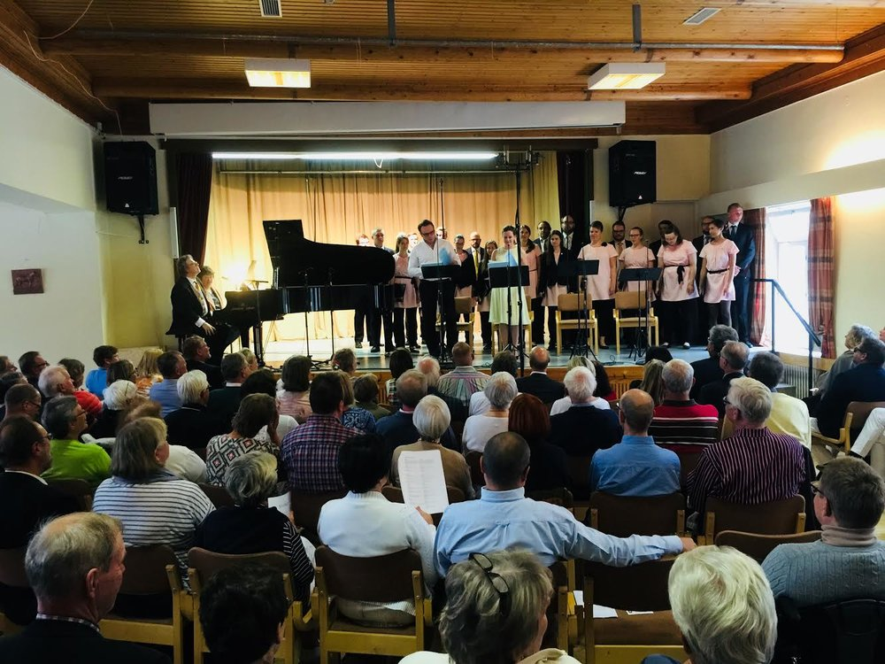 "Sibelius opera ""Jungfru i Tornet"" på kommunalgården i Korpo, 2015"