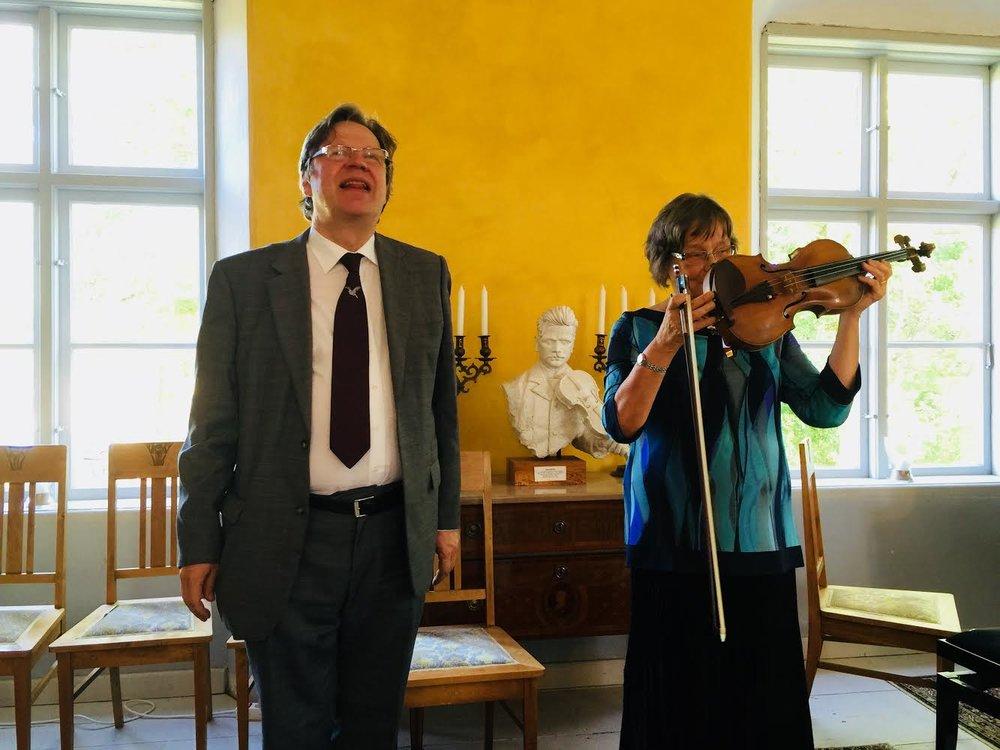 Folke Gräsbeck and Satu Jalas, 2016