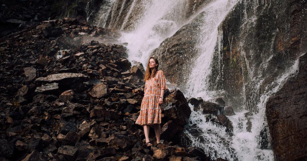 Photo by Iris Fairly Beam in the Rockies