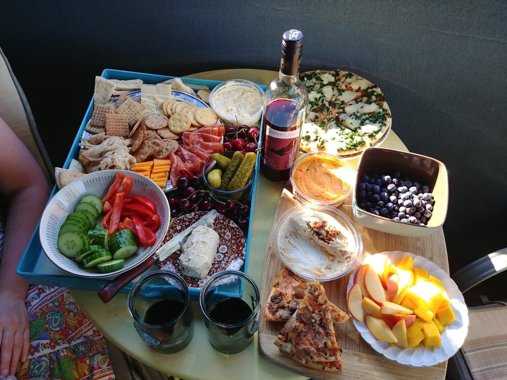 The world is Dawn's charcuterie board.