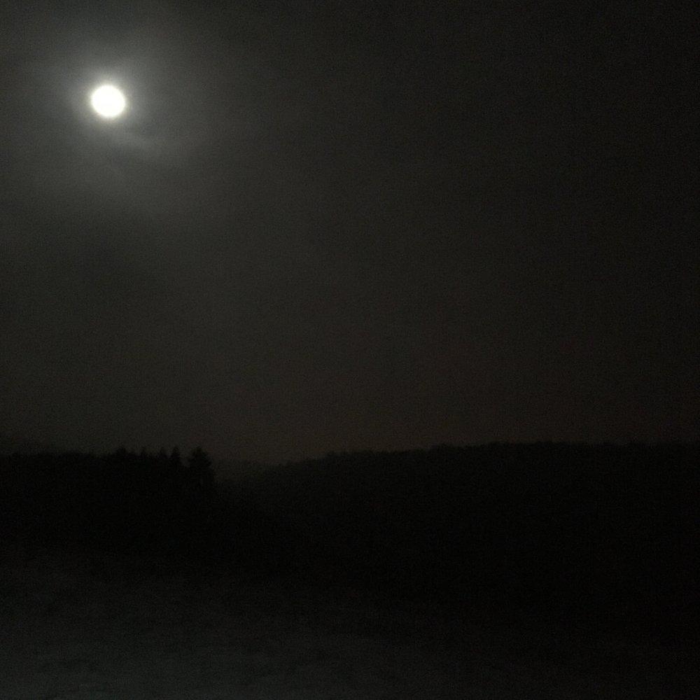 Running in the moonlight