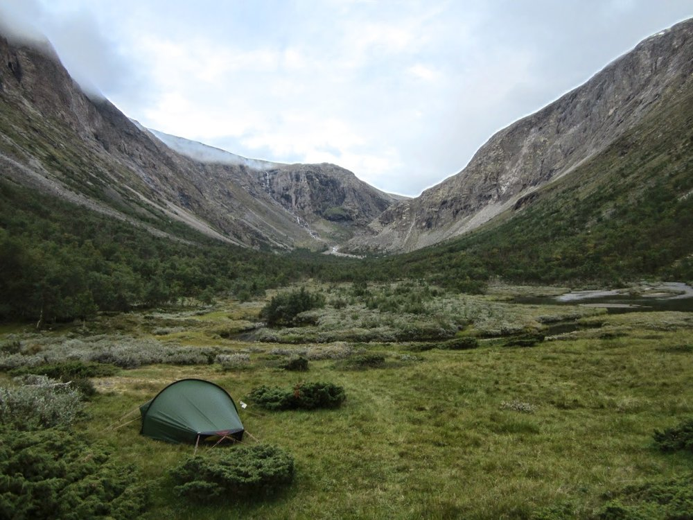 Camping in Dovrefjell