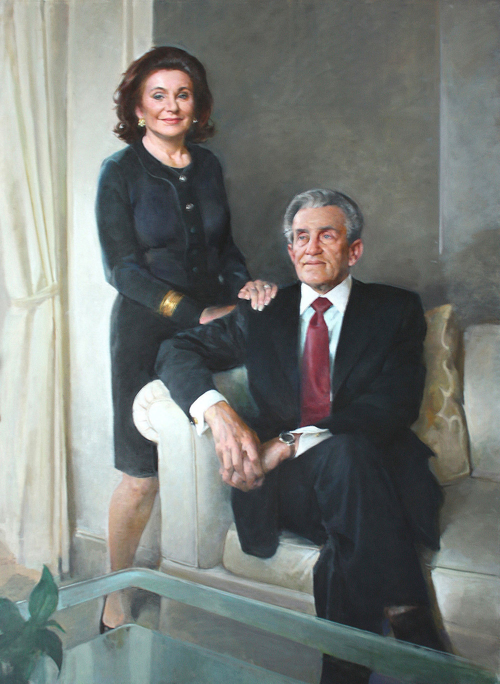 Robert and Renee Belfer, 2012