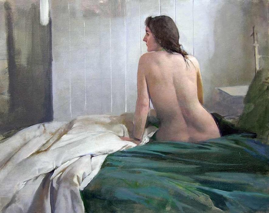 Morning Nude, II, 2005