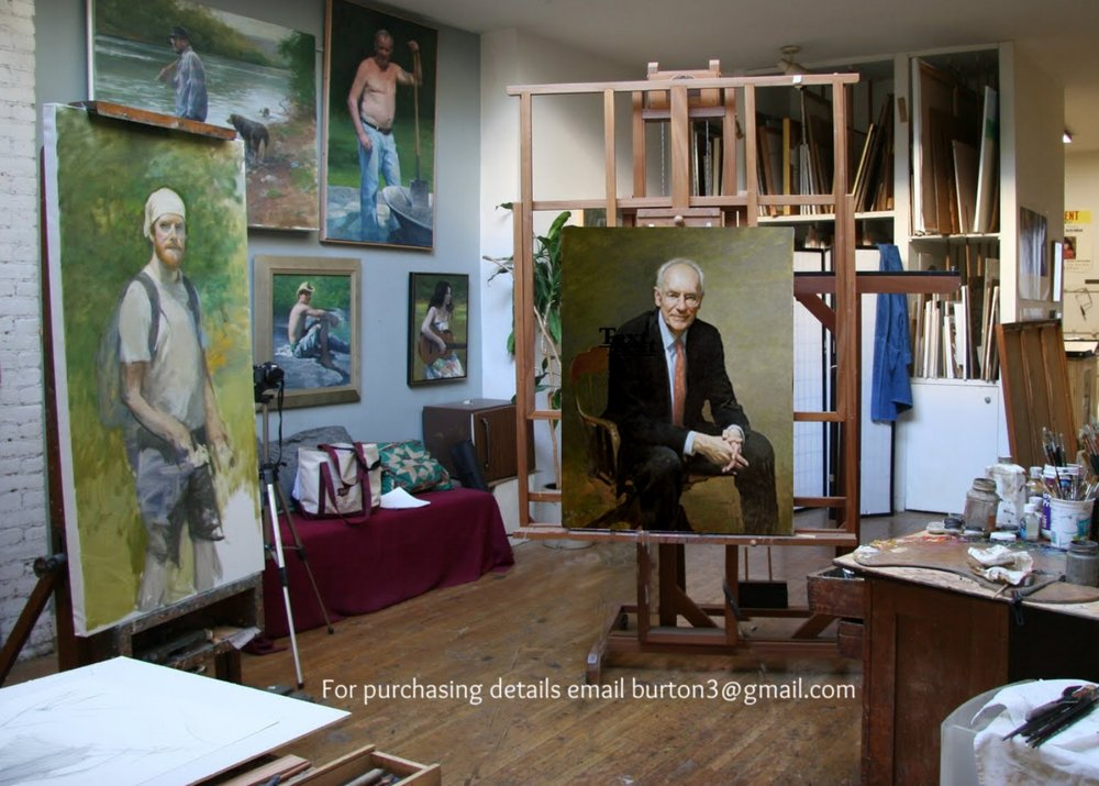 Interior of Burt's Studio.   .jpg