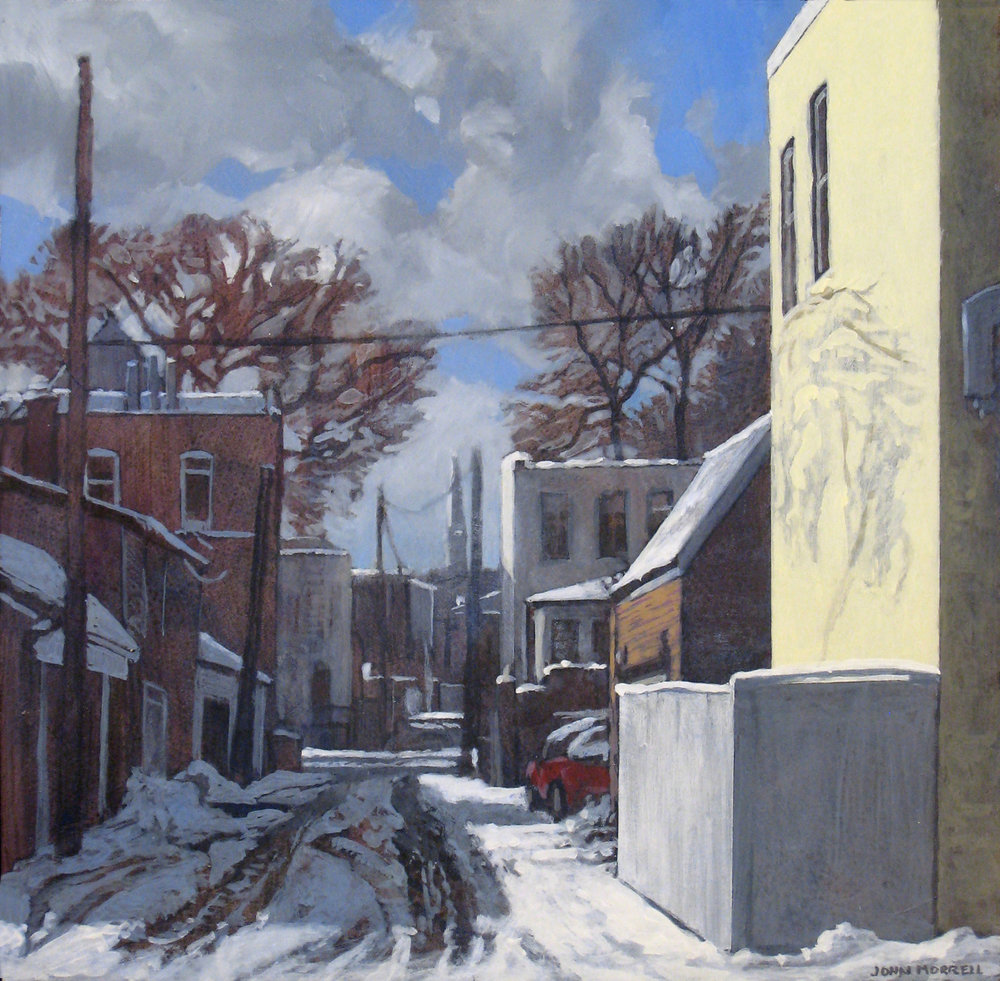 Georgetown Alley (Winter)