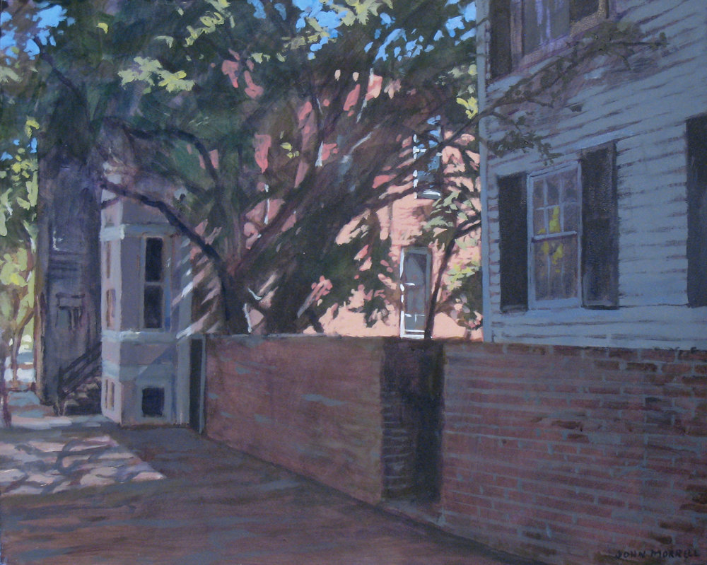 3338 P Street (Red Wall)