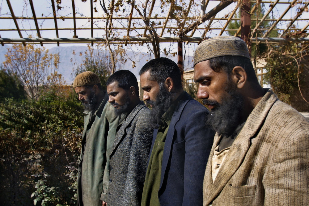 December 2001: Pakistani Taliban captured outside of Kabul while fighting Northern Alliance troops. All four were from Pakistan's Punjab province, trained at a local religious center, and recruited by Jaish-i-Mohammed, a militant Islamic group associated with Osama bin Laden.