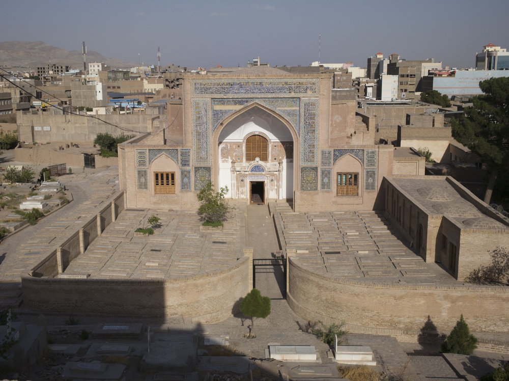 Near Shahzada Abdullah stands another mausoleum, Shahzada Abdul Qasim, which has elements dating back to the pre-Islamic Sasanian era (second to fifth century CE). While the latter shrine is Shiite, Shahzada Abdullah is Sunni. It is common for devotees in Herat to visit both, a reflection of the citizens' religious tolerance.