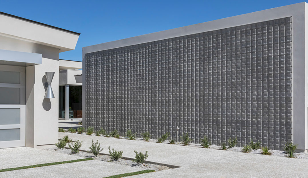 ARTO: Buckle Concrete 3D Wall Cladding