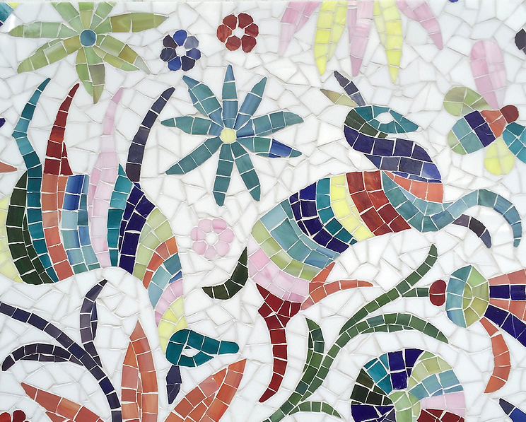 NEW RAVENNA: Glass Mosaic