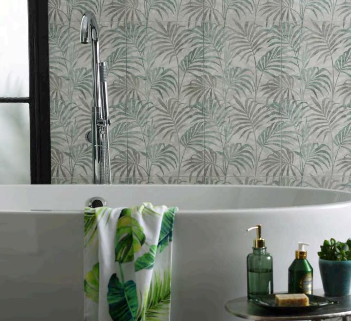ORIGINAL STYLE: LIVING COLLECTION large format porcelain tiles suitable for wet location
