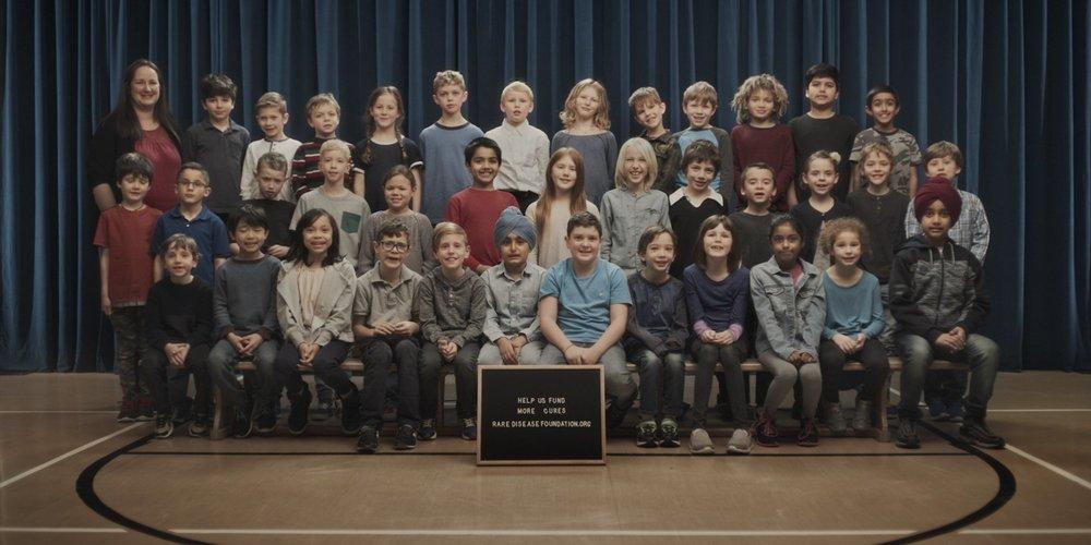 Class Photo - Rare Disease Foundation