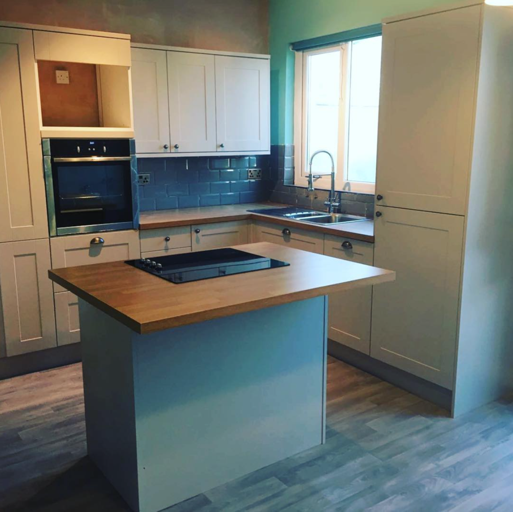 New kitchen installed for a customer in Didsbury.