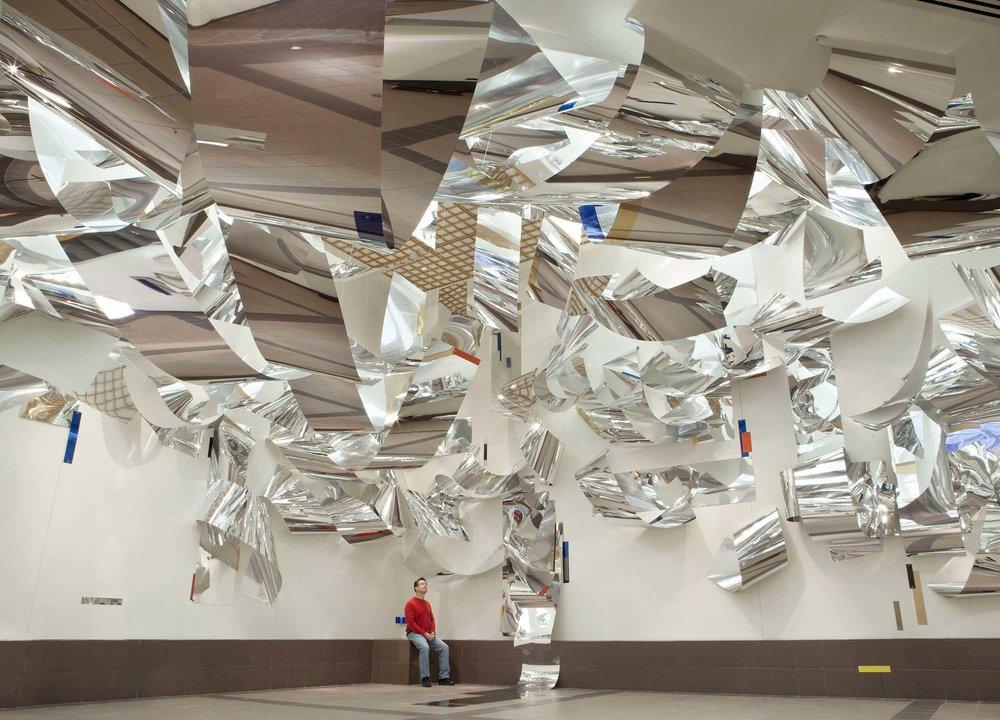 Sharon Louden,   Windows  , Tweed Museum of Art, Duluth, MN