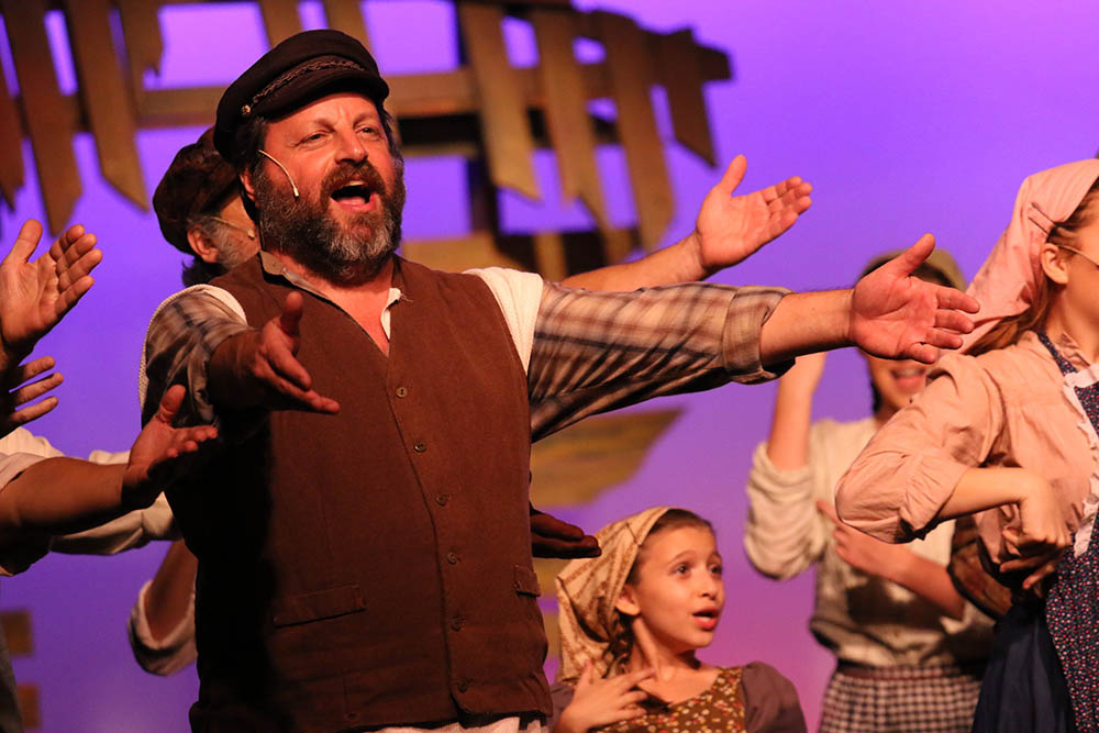 Doug as Teveye in  Fiddler on the Roof , 2017