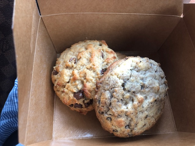 Chocolate Chip Walnut and Cookies and Cream