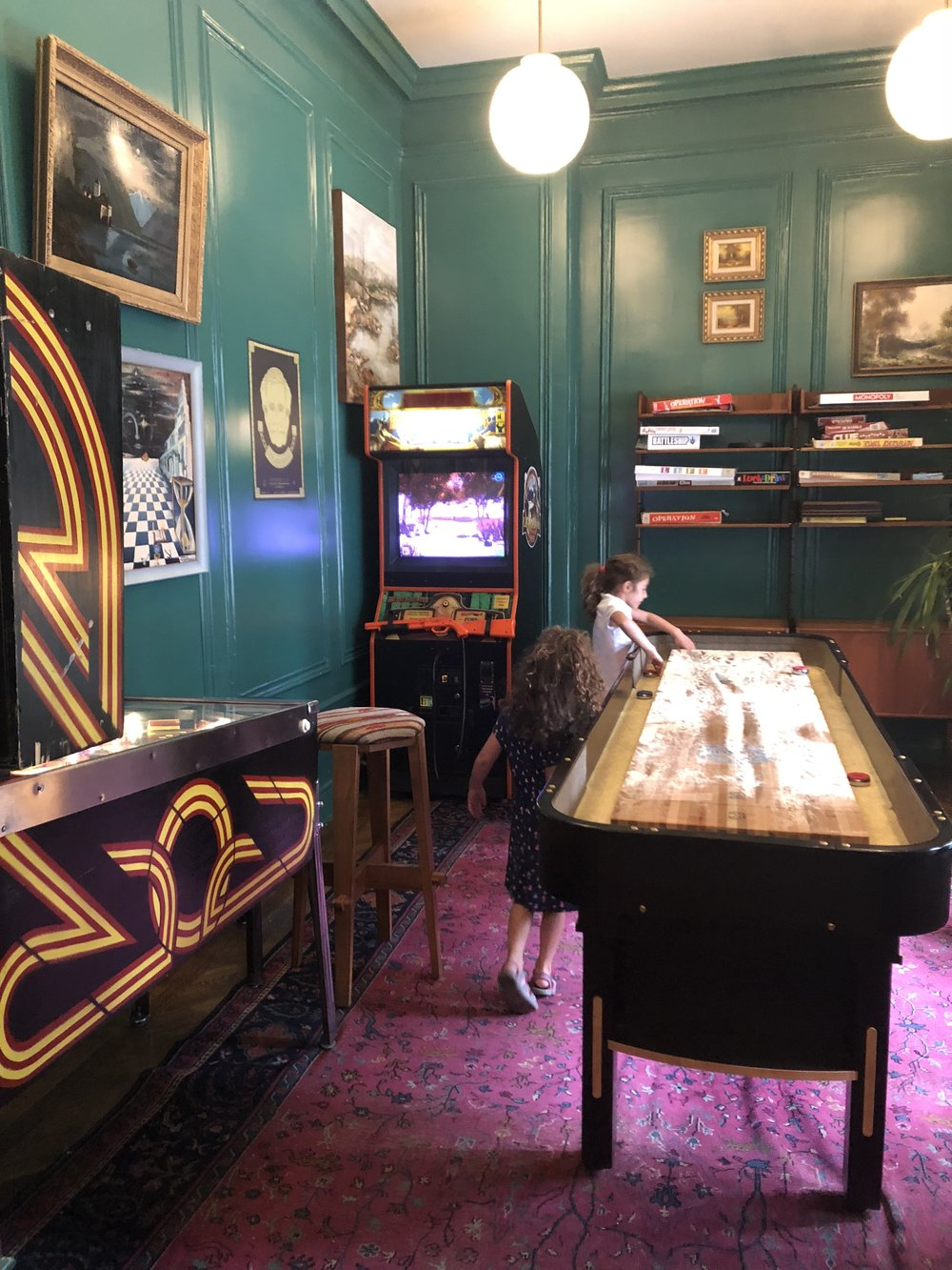 The Gorgeous Game Room on the Same Floor