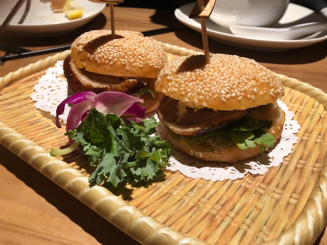 Hello, Smoked Duck Crispy Buns!