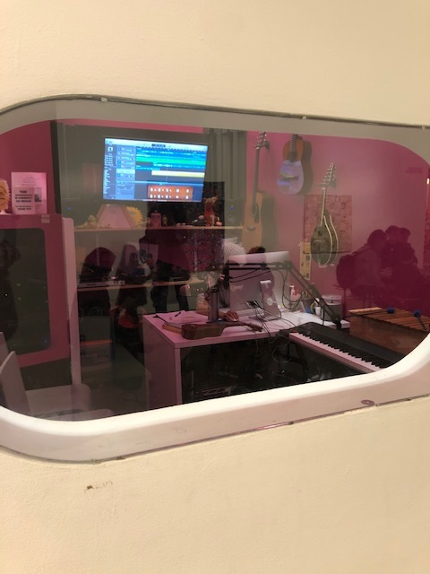 Peeking into the Sound Booth